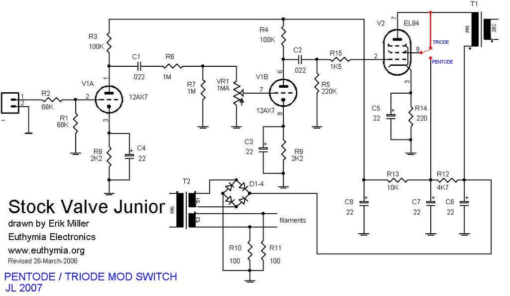 EL86SE moreover EL84 Push Pull Tube also Schemview likewise 69 Marshall Schemas likewise El34 4. on el84 schematic